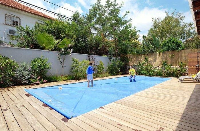 פתרונות כיסוי לבריכה ביתית