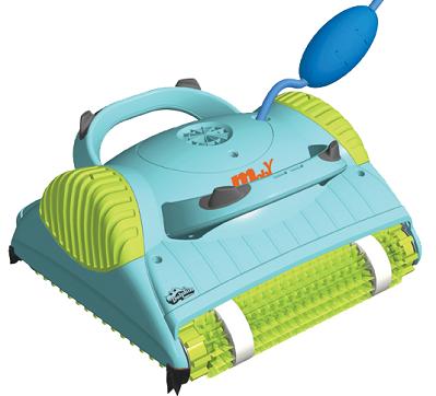 רובוט לבריכה דגם דולפין Moby